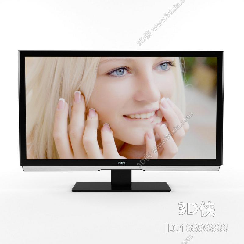 2012 软件打开,该电视柜图片素材大小是0m, 灯光详情:未知, 材质贴图