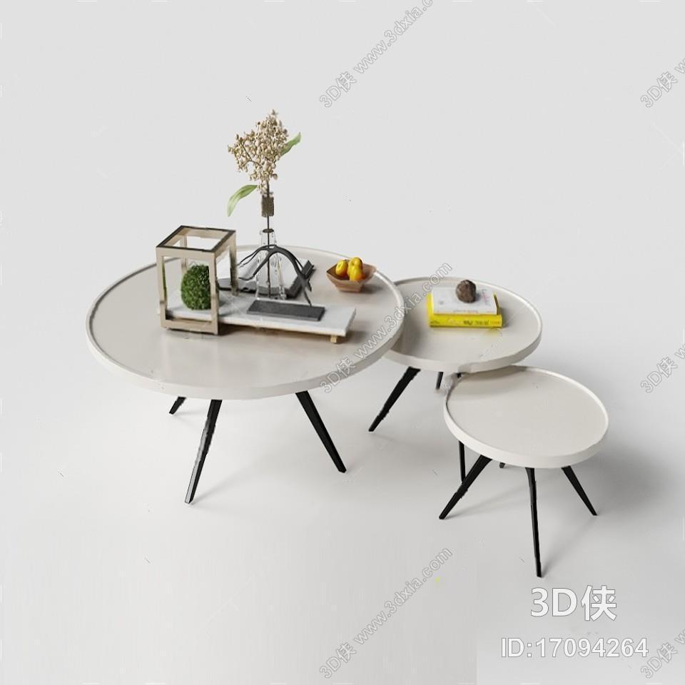 茶几 3D模型