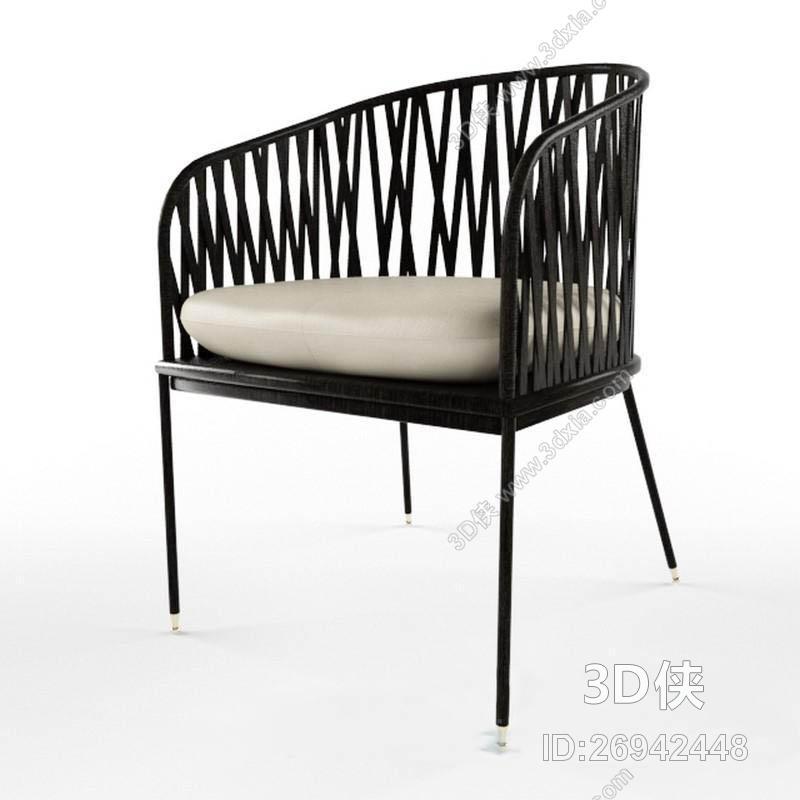 椅子 原木 圆形 金属 单体 原木椅子 木椅 皮革椅子 沙发椅子 创意