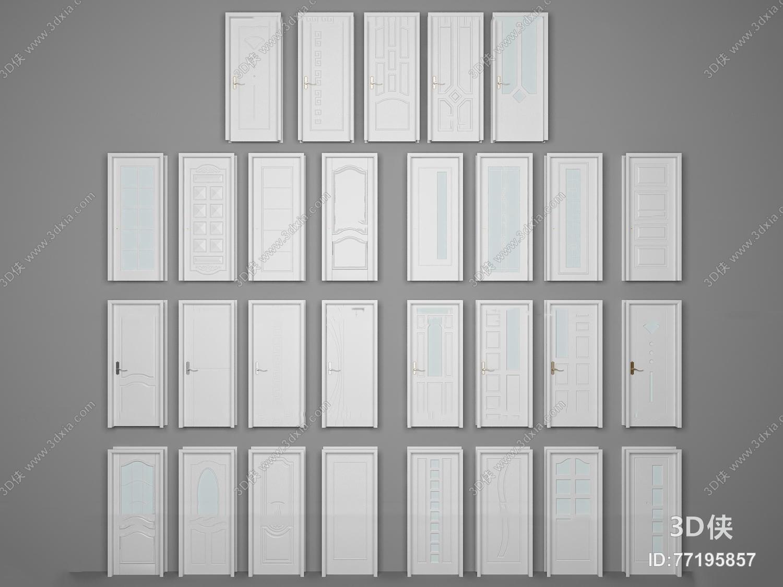 2012版本,建议使用3dmax 2012 软件打开,该欧式风格门窗户图片素材