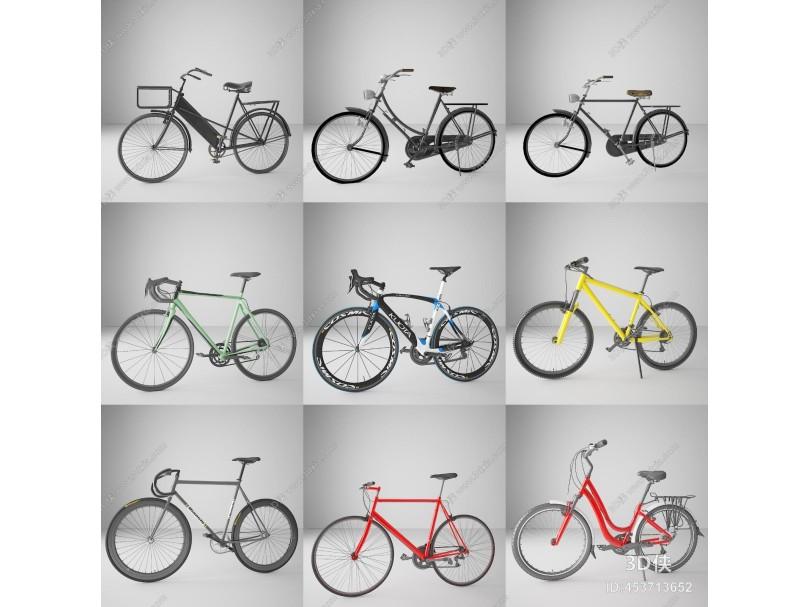 现代交通工具 自行车
