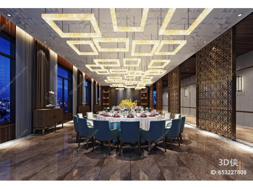 新中式餐厅包房 包间