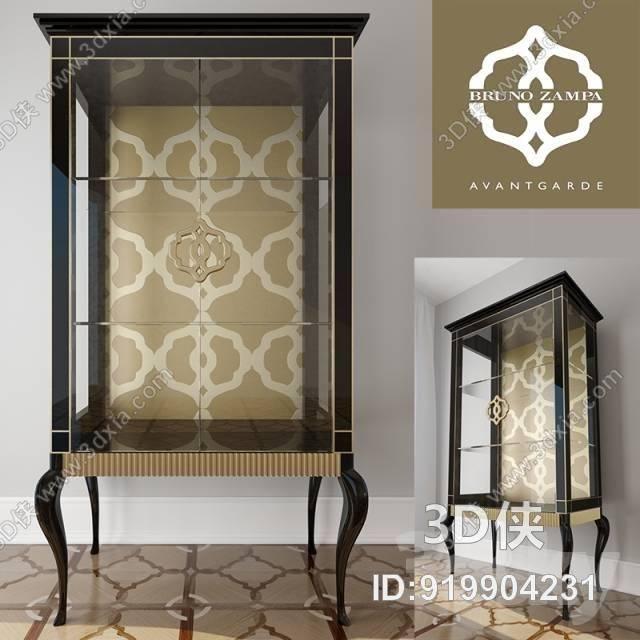 欧式古典装饰柜