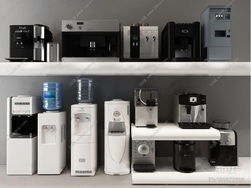 现代家用电器 现代家用电器 饮水机 净水器 咖啡机 研磨机