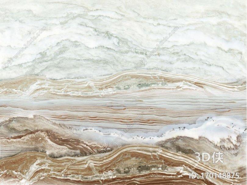 山水纹理石材