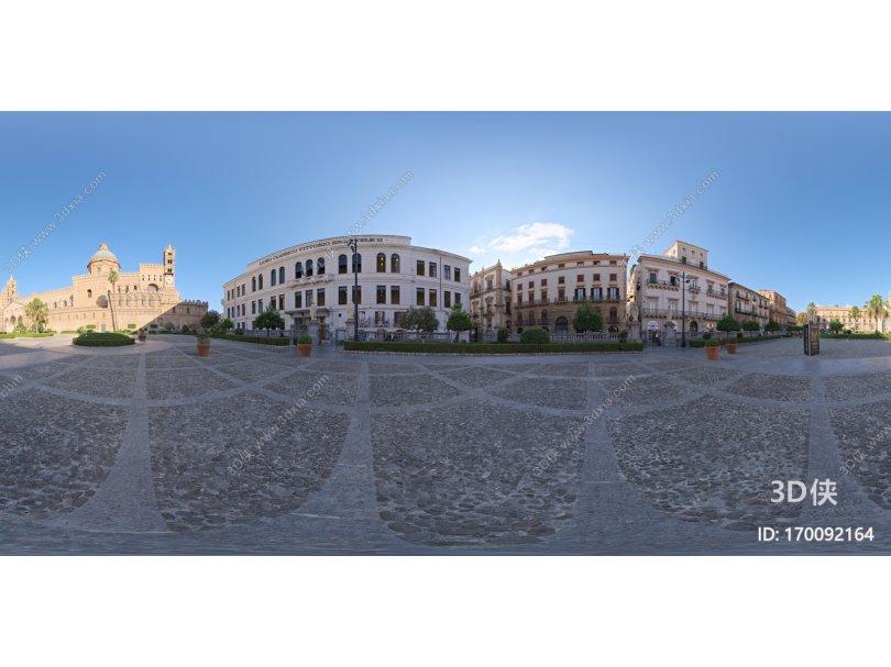 欧洲城市广场