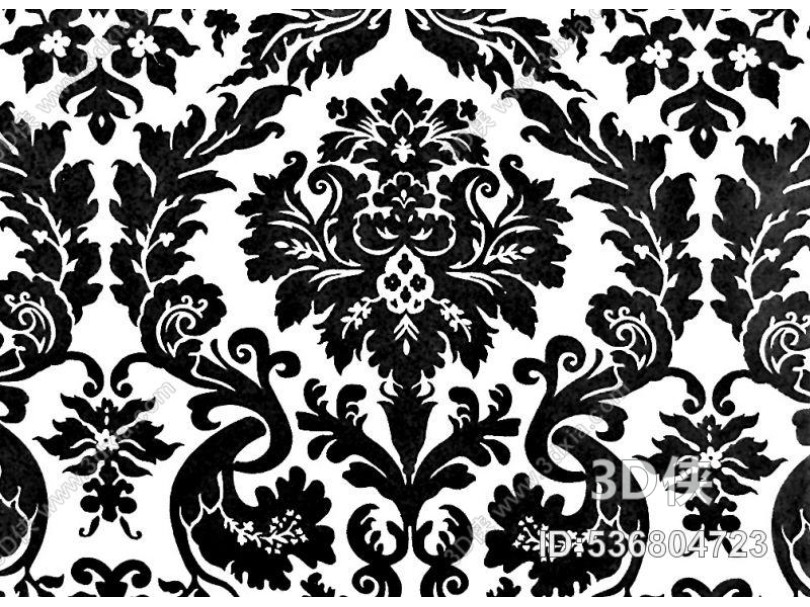 凹凸黑白-黑白古典 514