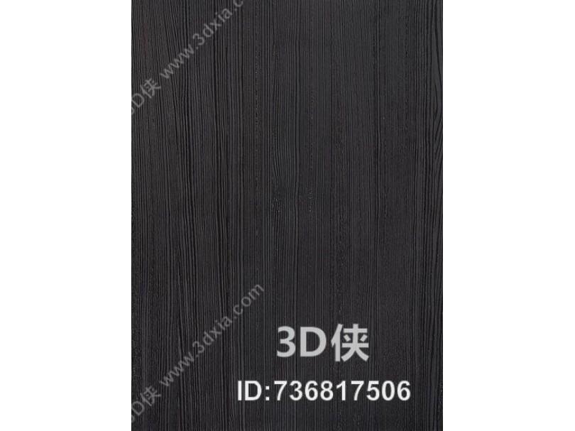 黑色细木纹