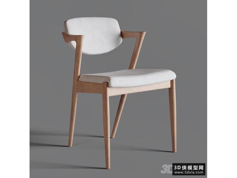 北欧木质椅