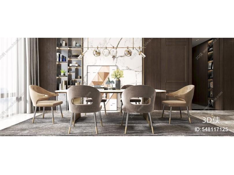 現代餐廳 餐桌 餐椅