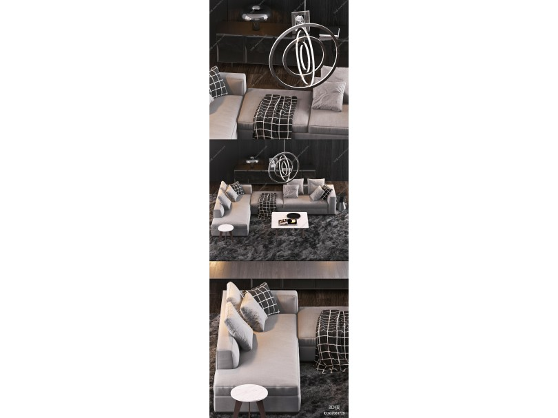 现代室内沙发