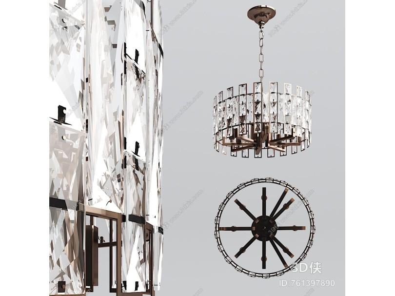 现代吊灯 水晶吊灯
