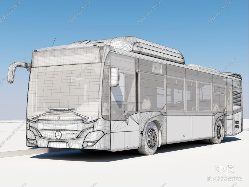 现代公交车 巴士