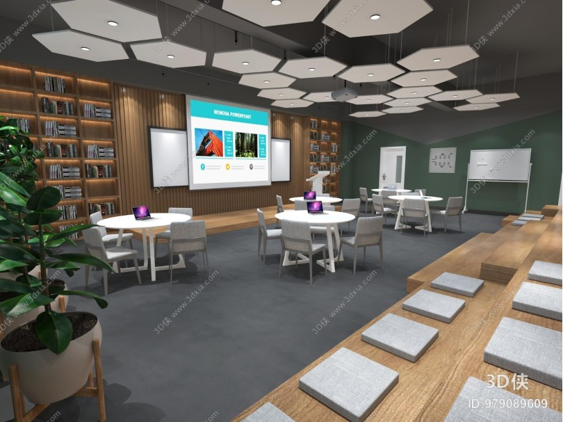现代教室 研讨室 学校