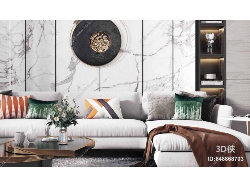 现代沙发茶几组合 休闲椅