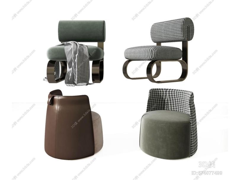 现代轻奢沙发椅
