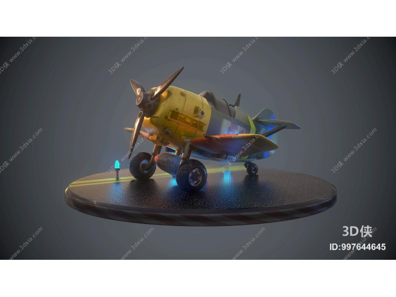 现代儿童飞机玩具