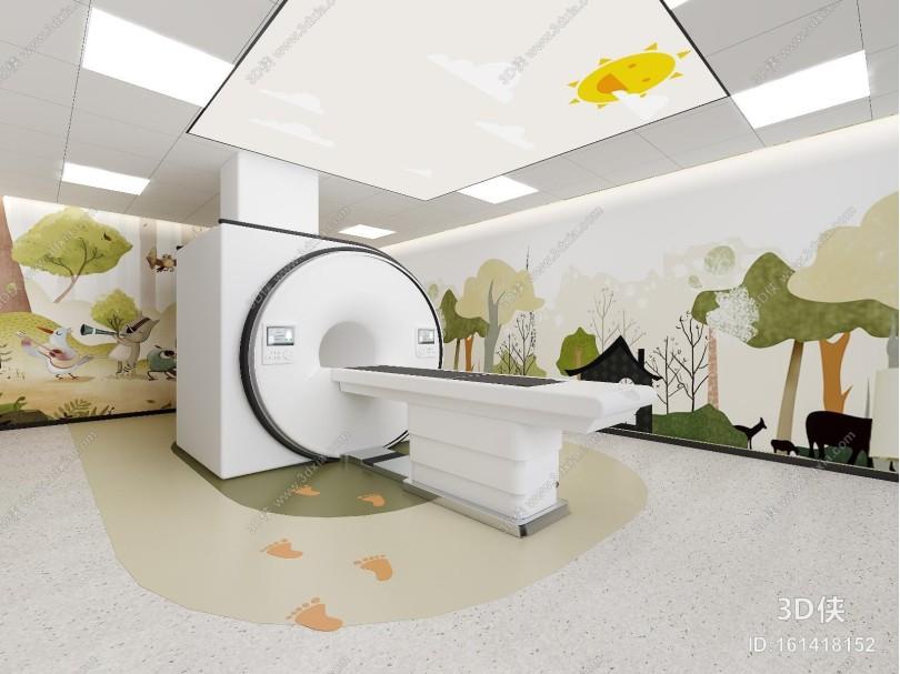 现代风格医疗器材 儿童医疗室