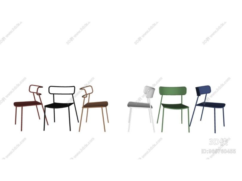 北欧休闲椅单人椅