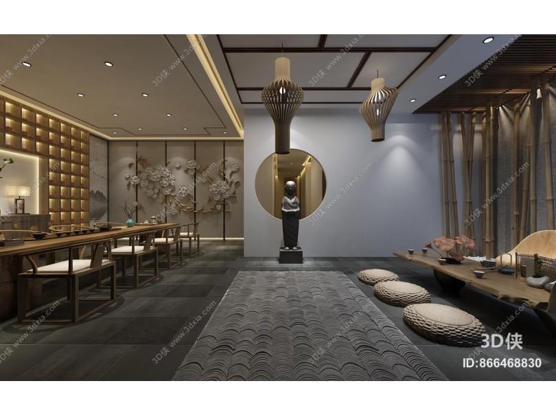 新中式茶馆 茶室