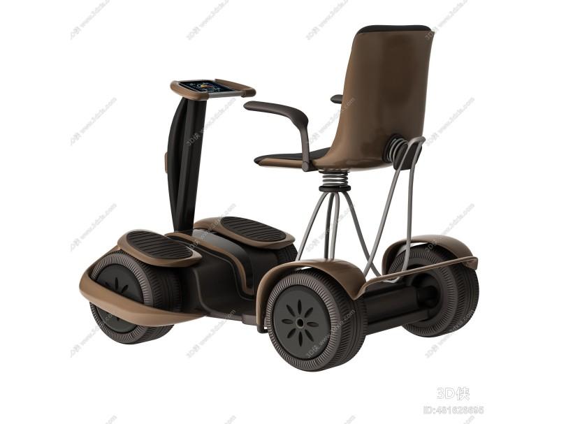 现代老人代步车 电动车 电动轮椅