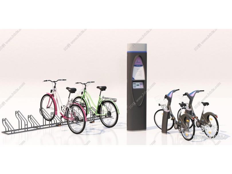 现代自行车 共享单车
