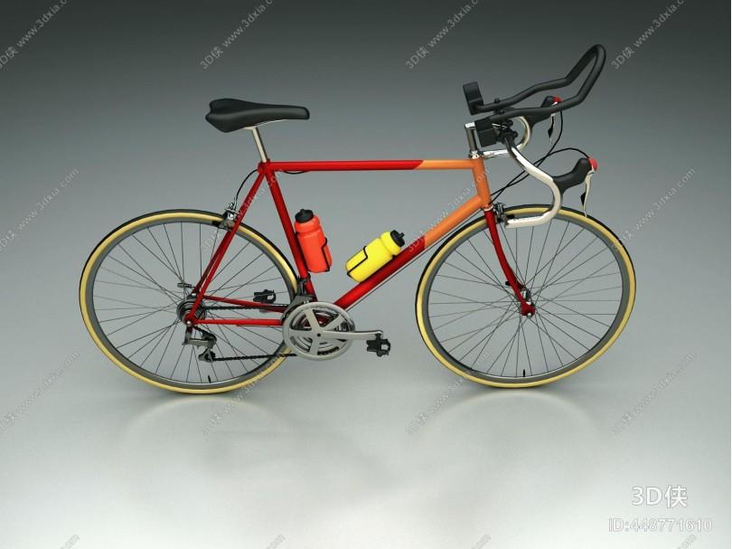 现代时尚山地自行车