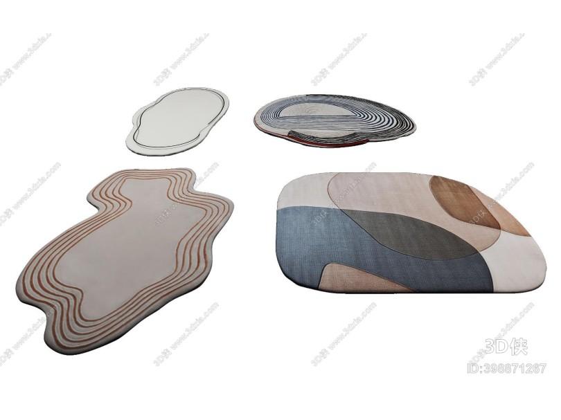 现代异形地毯