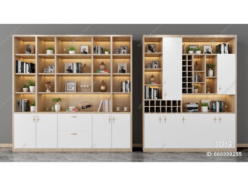 现代酒柜 装饰柜