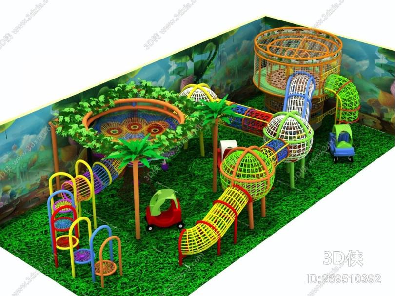 现代儿童乐园 游乐场