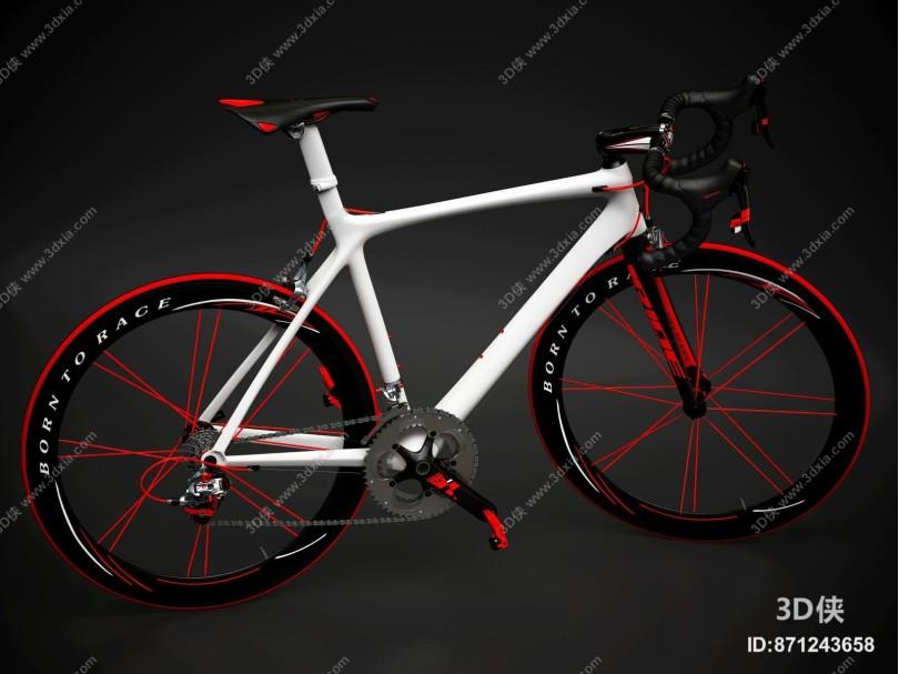 现代变速自行车
