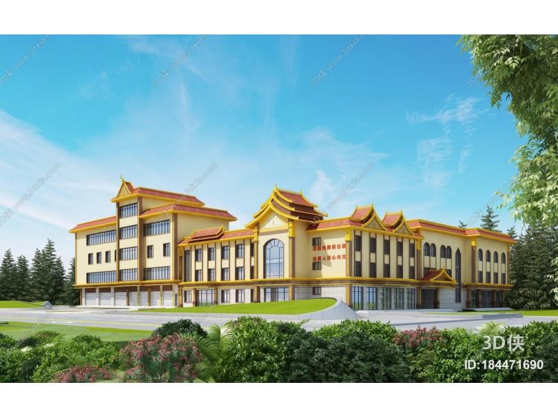 东南亚商业建筑外观