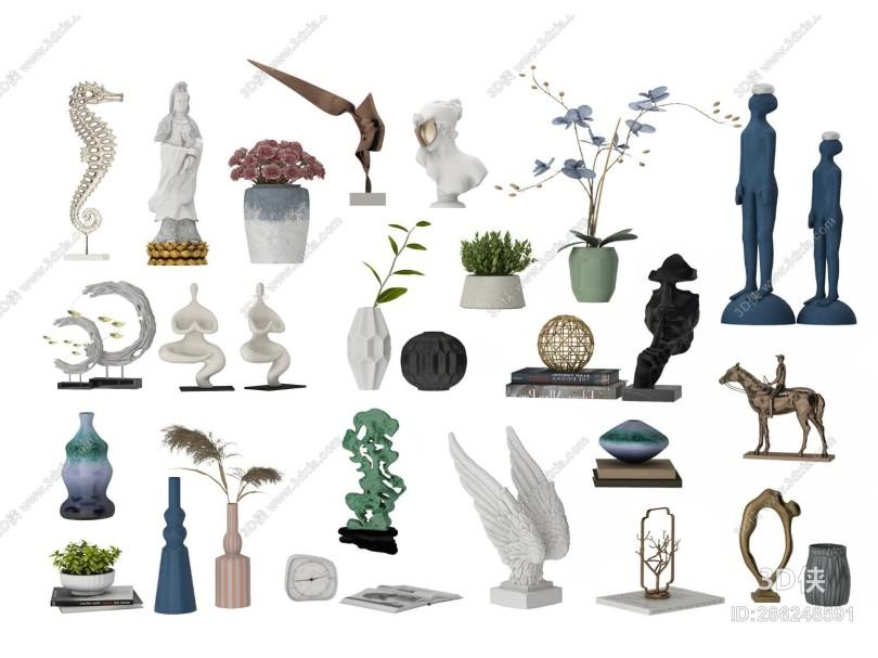 现代饰品摆件 装饰品 陈列品