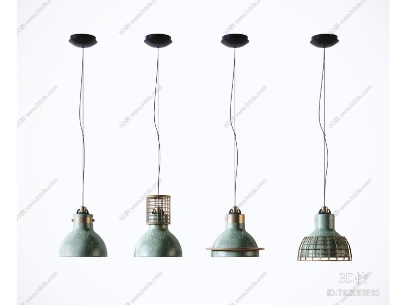 工业风吊灯 现代铁艺吊灯 艺术吊灯