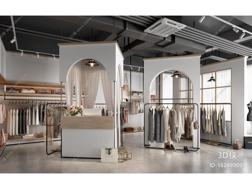 现代服装店 女装店