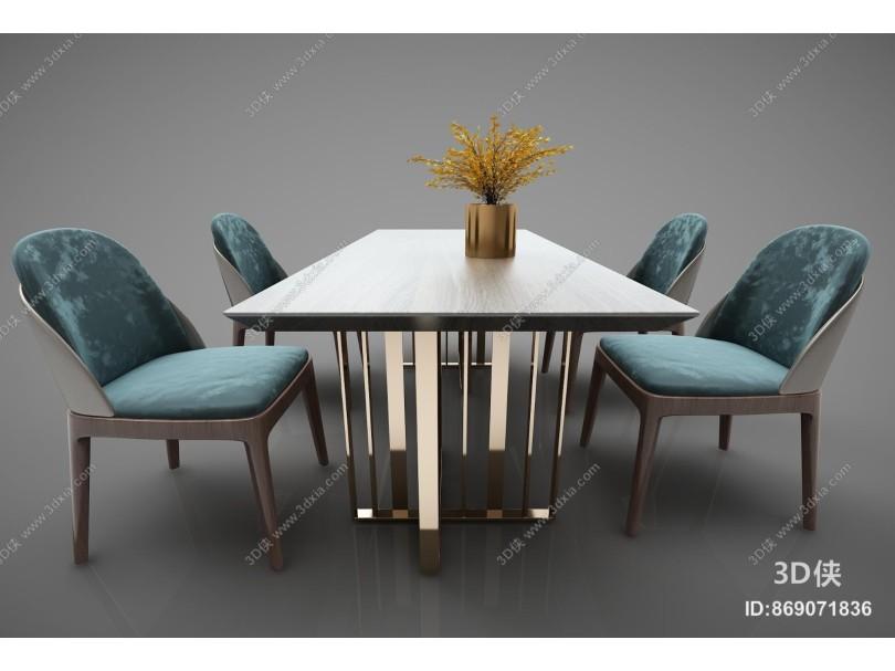 现代风格餐桌椅