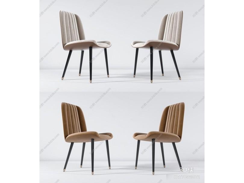 现代休闲单椅组合