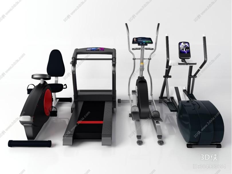 现代健身器材 跑步机 漫步机