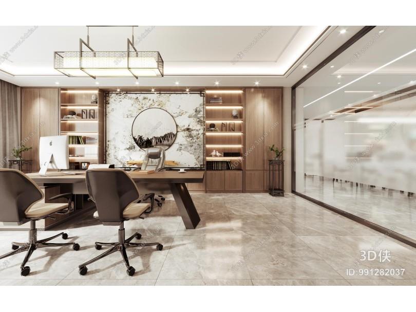 現代辦公室 書柜