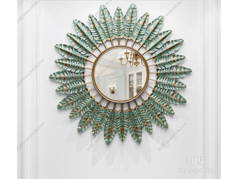 现代金属装饰镜