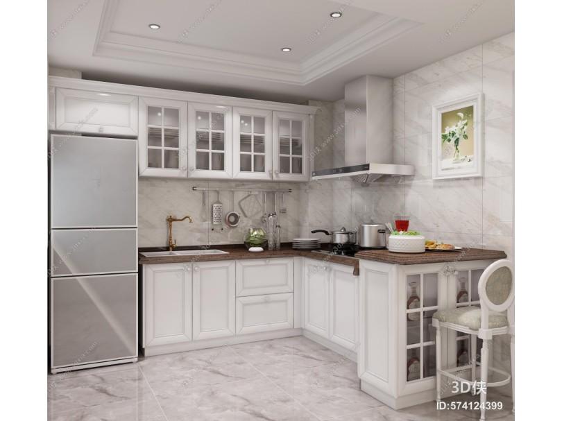 欧式厨房 橱柜