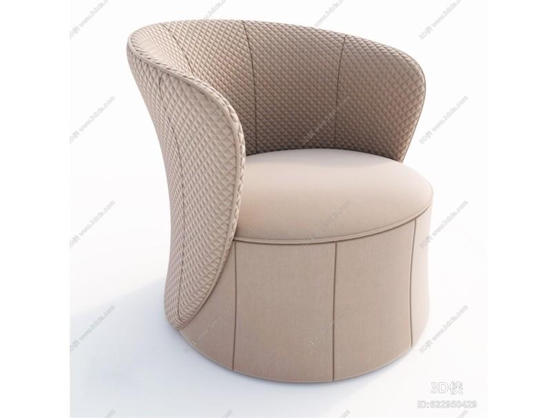 意大利芬迪Fendi现代布艺沙发