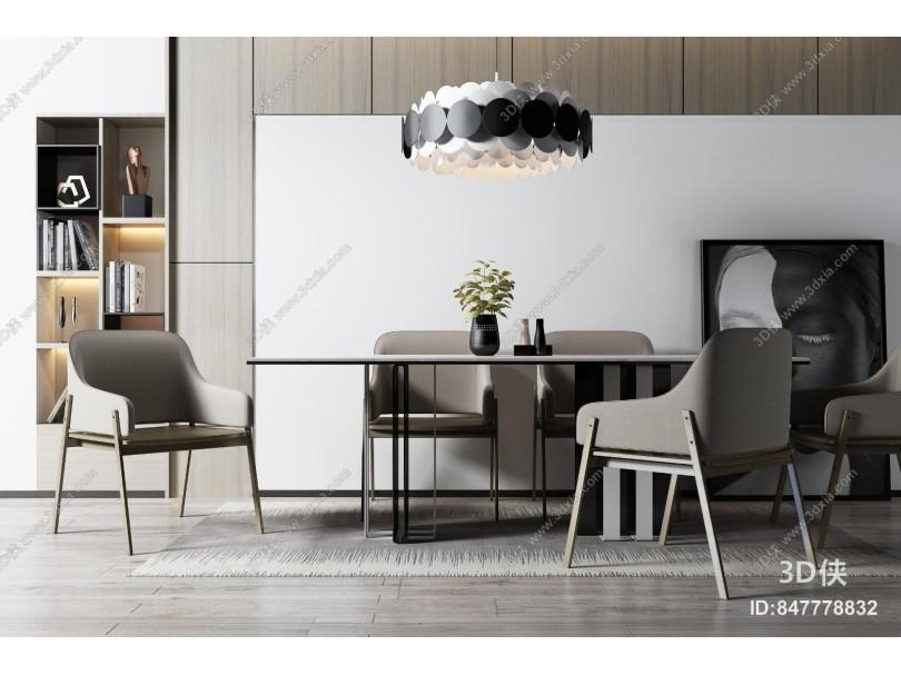 北歐餐桌椅組合