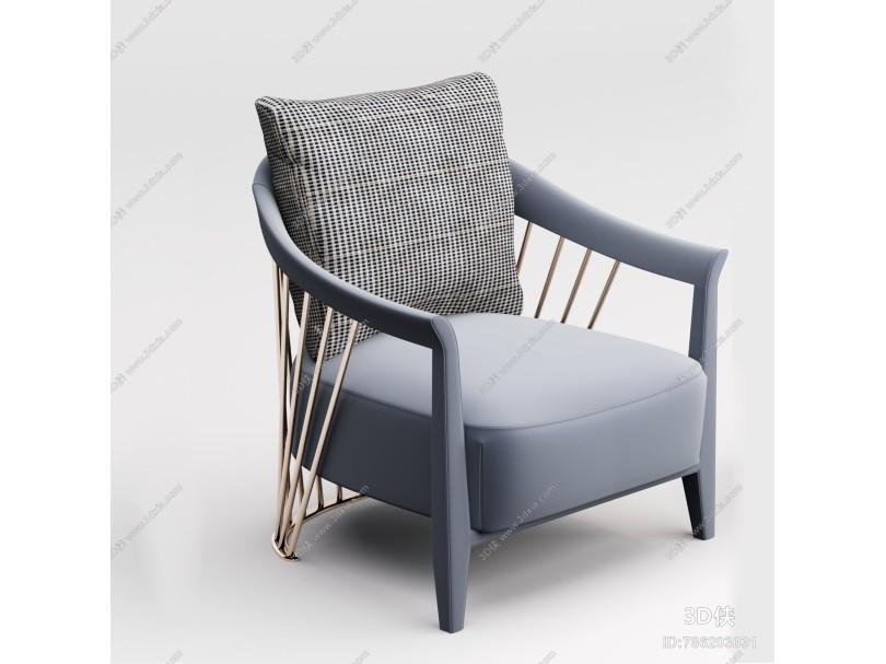 现代休闲椅 单椅