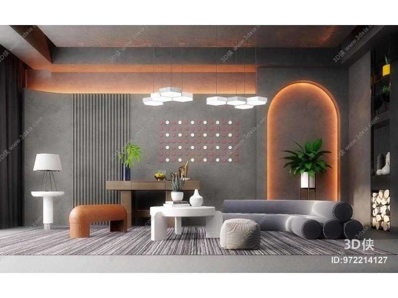 后现代客厅