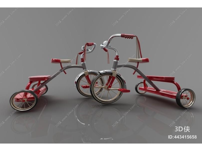 现代风格自行车