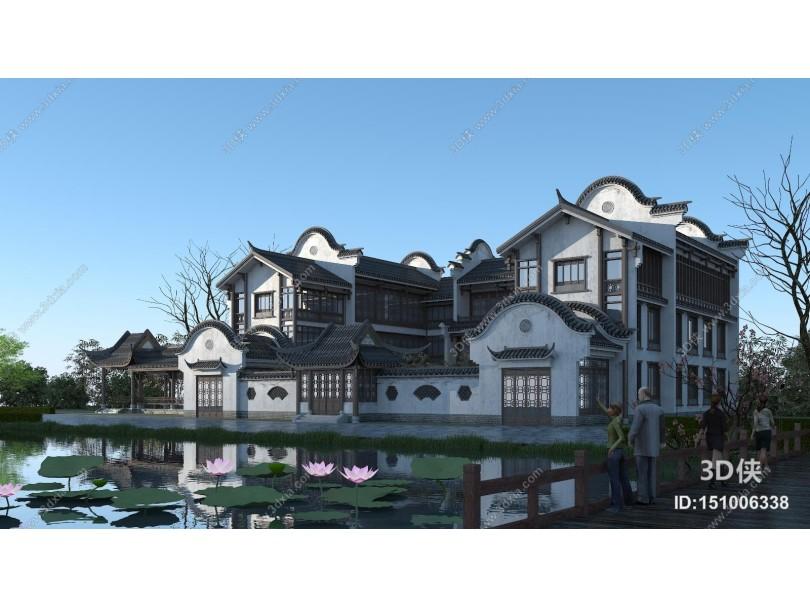 中式四合院 豪宅 别墅