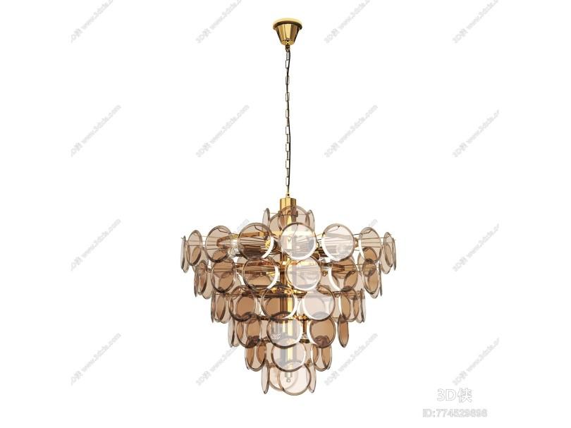 现代环形水晶吊灯