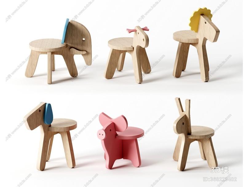 北欧儿童座椅