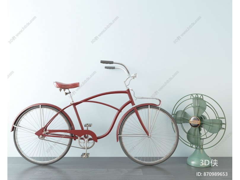 现代非机动车 自行车 电风扇